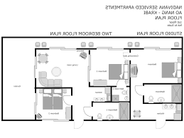 Narrow Apartment Floor Plans by Home Design One Bedroom Flat Floor Plan Decorating Ideas In 89