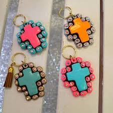 sookie sookie earrings sookie sookie cross keychain southern from southernjewlz