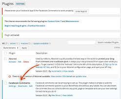 add the facebook comments wordpress plugin wplauncher
