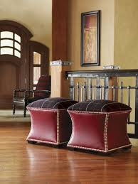 Manhattan Leather Chair Lexington Leather Eclipse Leather Ottoman Lexington Home Brands