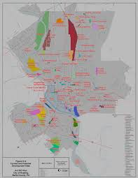 map of berks county pa current and potential development map act 537 city of