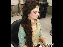 pakistani hair style in urdu pakistani indian party makeup and wedding hair style youtube
