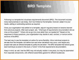 project business requirements document template 100 images