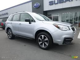 subaru forester 2018 colors 2018 ice silver metallic subaru forester 2 5i 121759587