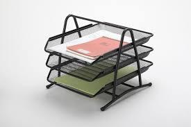 Desk Tray Organizer by B82001 Best Seller Desk Organizer 3 Layer Metal Mesh File Tray