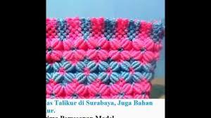 cara akhir membuat tas dari tali kur 0852 03400 192 tas tali kur tutorial tas tali kur membuat tas