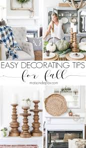 simple fall decorating tips and ideas maison de pax