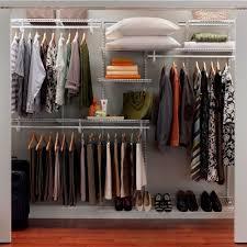 Astonishing Hanging Closet Storage Organizer Roselawnlutheran Marvellous Home Depot Closetmaid Impressions Roselawnlutheran