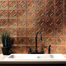 tin tile back splash copper backsplashes for kitchens hammered copper backsplash for kitchen tin ceiling tiles vintage