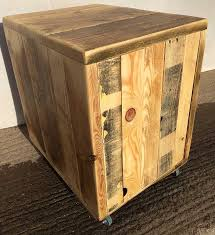 Reclaimed Wood File Cabinet Filing Cabinets And Pedestals Handmade In Somerset By Chunky