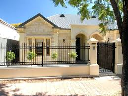 Small House Exterior Design Totally Cool Home Fence Design Ideas