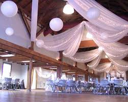 Ceiling Draping For Weddings Diy Wedding Decorations Ceiling Drapes Indoor Hotel Partial Ceiling