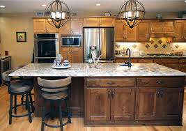 Kitchen Island Pictures At Home Kitchen Remodel Features Island Floor Tile Inset The