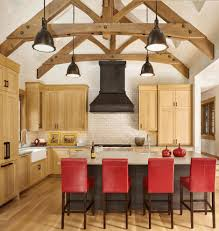 vaulted ceiling ideas concrete grill island swing out trash can