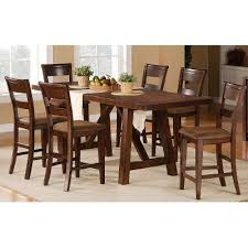 Counter High Dining Table Steve Silver Rebecca Wine Storage - Tanshire counter height dining room table price