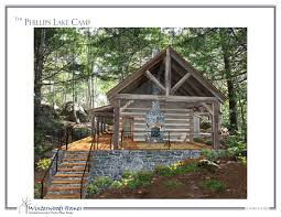 small cottage home plans the phillips lake c small cottage plan winterwoods homes