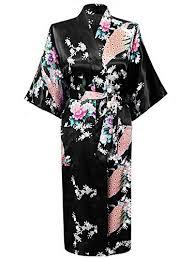 robe de chambre japonaise homme cityoung kimono japonais en satin robe de chambre peignoir