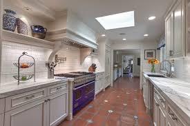 Traditional Kitchen Backsplash Design Ideas Nice Saltillo Tile With Blue Subway Tile Backsplash