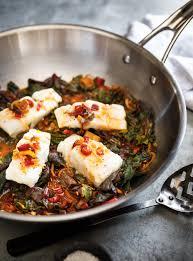poisson à cuisiner poisson blanc bouillon au gingembre et bettes à carde ricardo