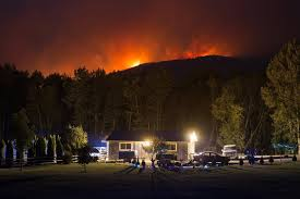 Wildfires In Bc July 2012 by B C Towns Brace For Wildfire Evacuation Orders As Weather Turns