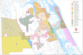 Map Of Volusia County Neighborhood Planning Groups New Smyrna Beach Fl Official Website