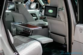 land rover interior 2017 the la auto show 2017 was dominated by new suvs slashgear