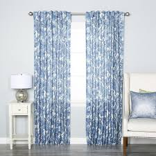 curtains ideas bamboo curtain panels grommet entrancing stripe