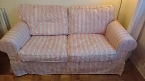 ektorp sofa covers ikea ektorp 2 seat sofa covers in mobacka beige stripe covers