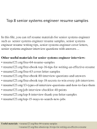 Linux System Engineer Resume Systems Engineer Resume Free Resume Example And Writing Download