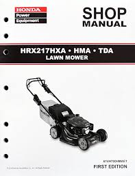honda hrx217 type amazon com honda hrx217 hma hxa tda lawn mower service repair