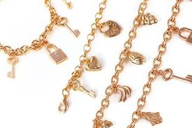 gold plated charm bracelet images 78 off kohl sweet love 18k gold plated charm bracelet for rm45 jpg