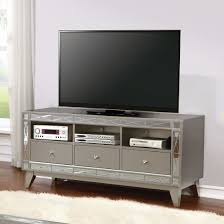 coaster metallic tv console 701692 bedroom express
