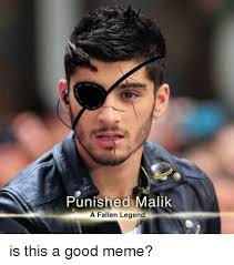 Legend Memes - punished malik a fallen legend is this a good meme meme on