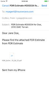 Paintless Dent Repair Estimate Sheet by Pdr Estimate On The App Store