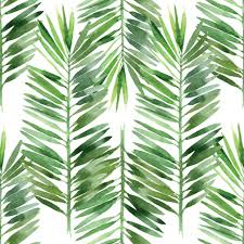 watercolor palm tree leaf pattern mural murals your way love the watercolor palm tree leaf pattern wall mural from murals your way will add a distinctive touch to any room