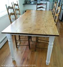 Redo Kitchen Table by Our Recycled Farm Table