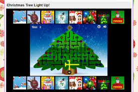 christmas tree light game 29 free online christmas games that the kids will love