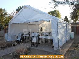 white tent rentals 20ft x 20ft tent