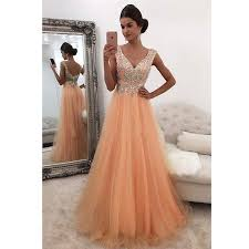 graduation dresses siaoryne coral v neck a line prom dresses with appliqued saioryne