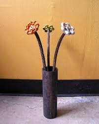 Metal Garden Flowers Outdoor Decor 122 Best Garden Art Made From Scrap Metal Images On Pinterest