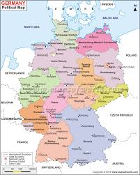 Wittenberg Germany Map by Download Political Map Germany Major Tourist Attractions Maps
