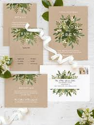 wedding invitations greenery 30 stunning ways to infuse your wedding with greenery chic