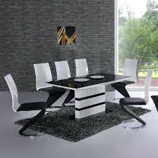 decfurn glass dining table for 6 60 inch rectangular glass dining