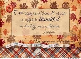 quote for thanksgiving season fall themed thankful
