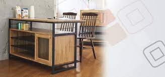 tinwood scandi industrial kitchen island dining table dining