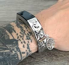 life tracker bracelet images Green aventurine sterling silver ear cuff 4mm bead handmade