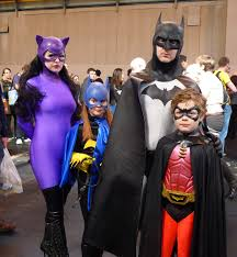 batman family halloween costumes my first comic con birmingham 2014 fifty degrees of separation