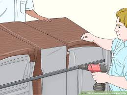 How To Disassemble Recliner Sofa 3 Ways To Dismantle A Recliner Sofa Wikihow