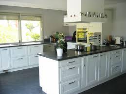 cuisine en bois blanc cuisine blanc laqu et bois galerie avec blanche laque newsindo co
