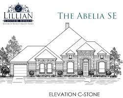 New Homes Floor Plans The Abelia Se Sandstone Ranch Phase Ii New Home Floor Plan